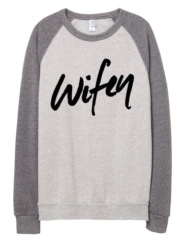 Wifey Fleece Sweater