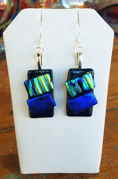 Glass Earrings #7