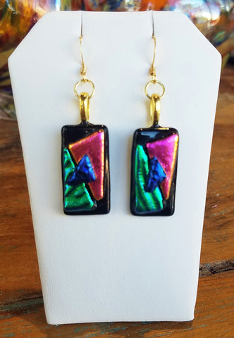 Glass Earrings #8