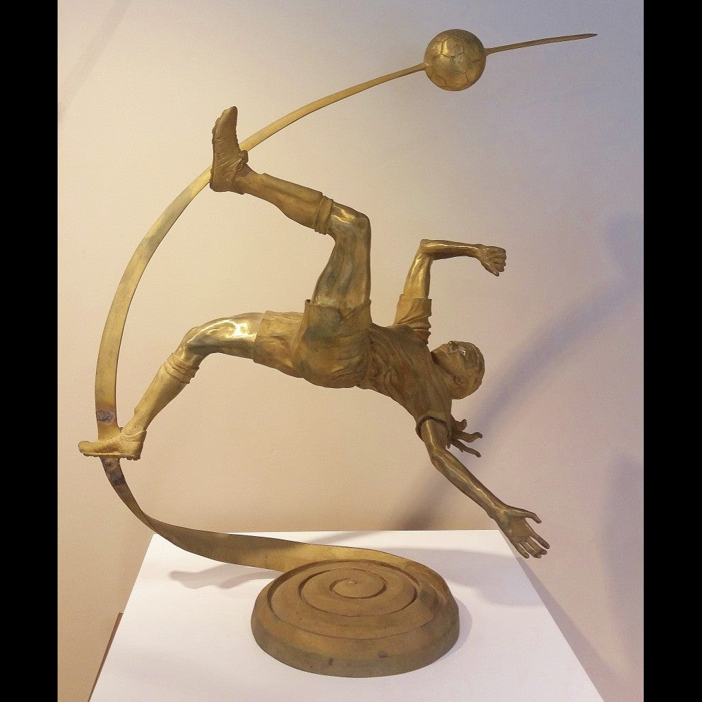 Soccer Sculpture - Arabesque