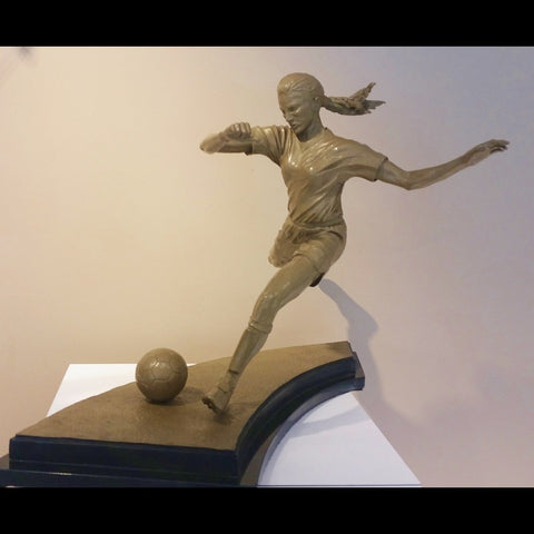 Soccer Sculpture - Arabesque II