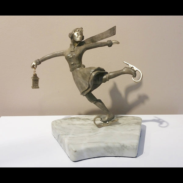 Ice Skating Sculpture - Floating on Ice (Single)