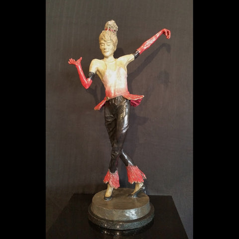 sculpture,bronze,art,sports,atheletic,creative,lost wax,handcrafted