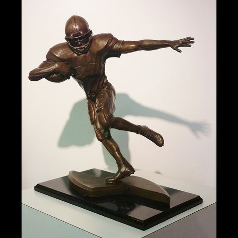 Football Sculpture - Elusive