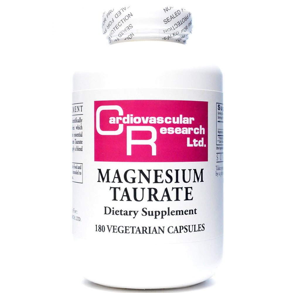 Magnesium Taurate - Cardiovascular Research