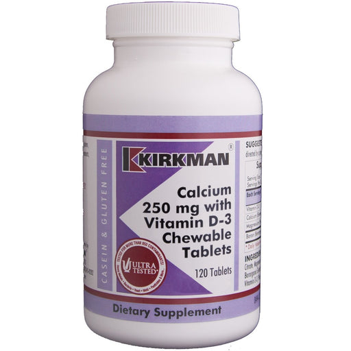 Calcium 250 mg with Vitamin D-3 Chewable Tablets