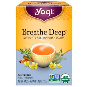 Breathe Deep - Yogi Tea