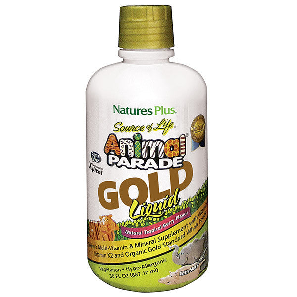 Animal Parade® GOLD Liquid - Children's Multi - Tropical Berry