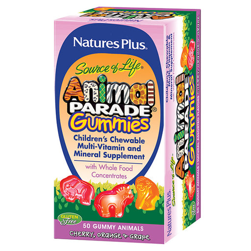 Multi-Vitamin/Mineral Gummies -  Animal Parade