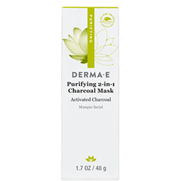 Derma-E Purifying 2-in-1 Charcoal Mask