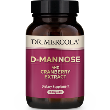 Dr. Mercola D-Mannose and Cranberry Extract