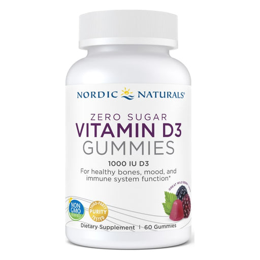 Zero Sugar Vitamin D3 Gummies