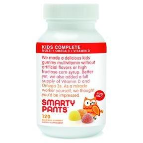 Smarty Pants - KIDS COMPLETE 120 GUMMIES