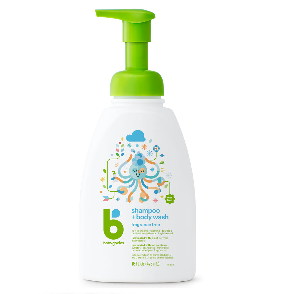 Babyganics Shampoo and Body Wash