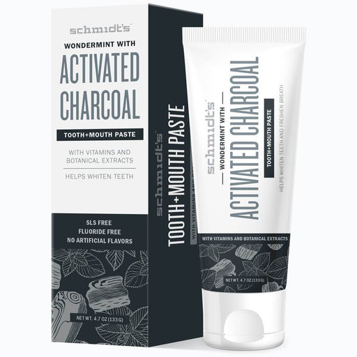 Schmidt's ACTIVATED CHARCOAL WITH WONDERMINT® Toothpaste