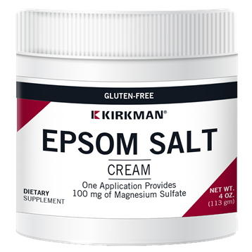 Epsom Salt Cream