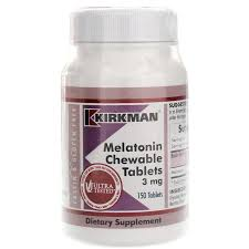 Melatonin Chewable Tablets Kirkman 3 mg