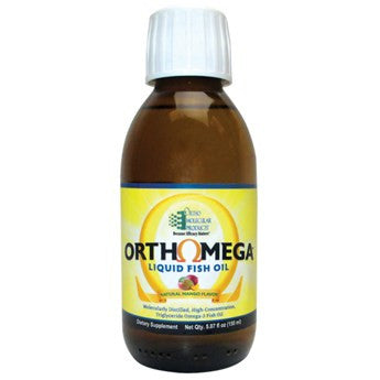 OrthOmega Liquid Fish Oil - Mango