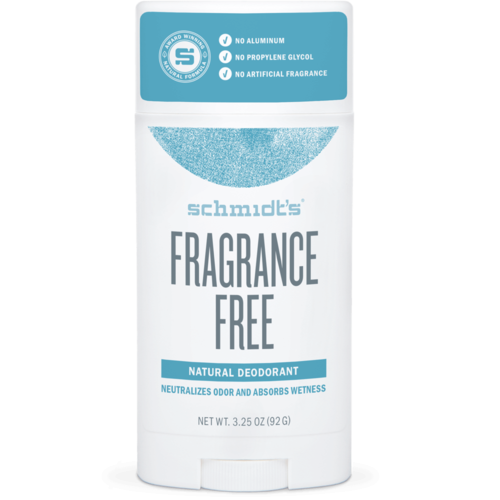 Schmidt's Natural Deodorant Stick FRAGRANCE-FREE
