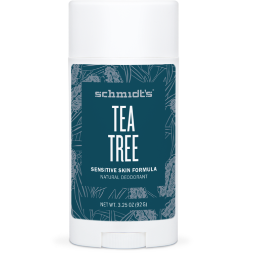 Schmidt's Sensitive Skin Deodorant Stick TEA TREE