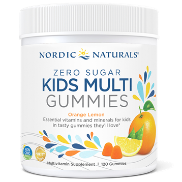Nordic Naturals Zero Sugar Kids Multi 120 Gummies