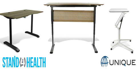 Unique Furniture Standing Desks And Accessories on the Stand 4 Health Standing Desk Store