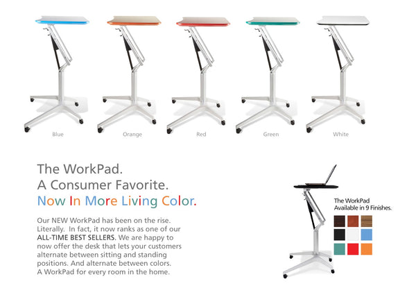 Workpad 201 Height Adjustable Desk by Unique Furniture on Stand 4 Health Standing Desk Store