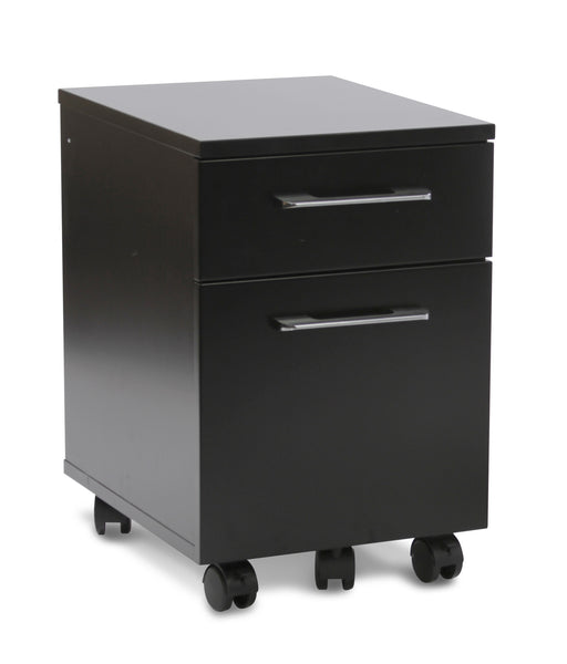 2-Drawer Mobile Steel File Cabinet 231 Anti-Tilt & Wheels
