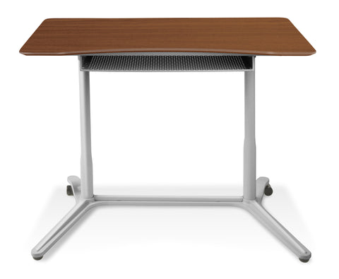 Height Adjustable Mobile Steel Standing Desk 204  With Wheels