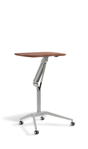 Mobile Workpad Stand Up Height Adjustable Silver Base Desk 208