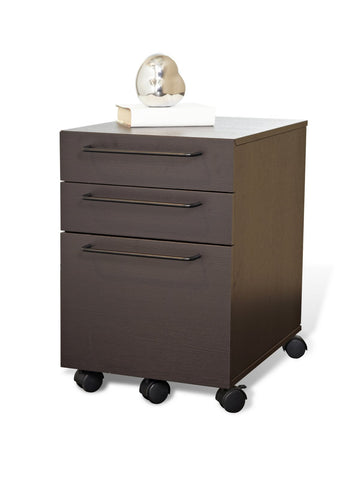 ... 3 Drawer Mobile Steel File Cabinet 211 Anti Tilt Non Scratch Surface ...