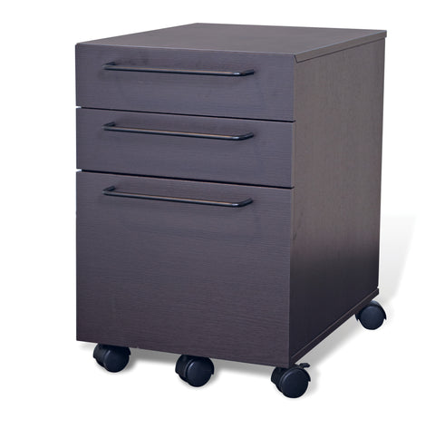 3 Drawer Mobile Steel File Cabinet  211 Anti-Tilt Non-Scratch Surface