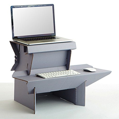 "Spark by Ergodriven | The Perfect ""Start Standing Now"" Standing Desk (Medium)"