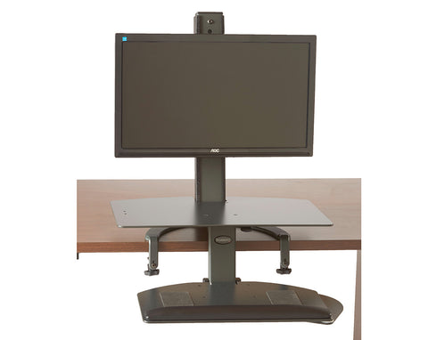 The TaskMate Go Sit-Stand Desk 6301 Large Keyboard Tray & Worksurface