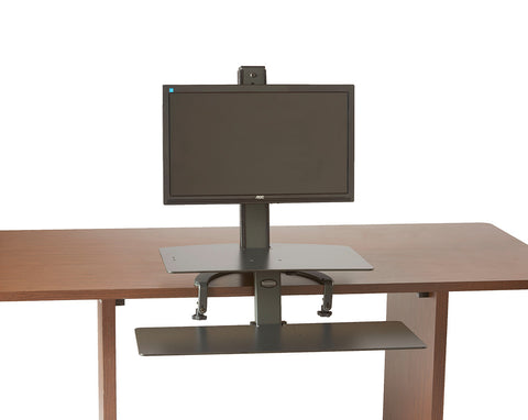 The TaskMate Go Sit-Stand Desk 6302  Large Keyboard Tray & Worksurface