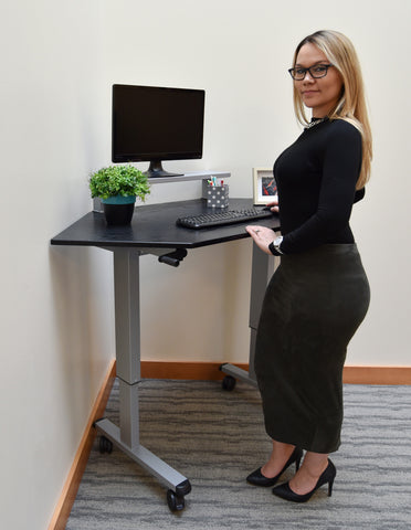 Value Standing Desks on the Ergonomic Office Stand 4 Health Sit