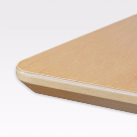 Tabletops Made of Melamine Coming in Beech & Maple Veneer