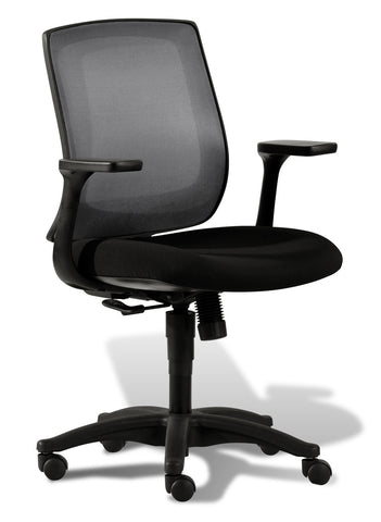 Camella Office Chair Mesh Back & Black Base