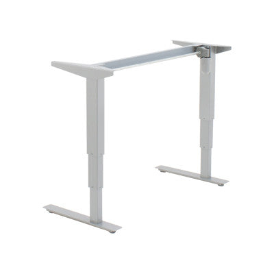 2-Leg Electric Height Adjustable Sit-Stand Desk 501 37, Steel