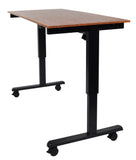 Electric Height Adjustable Mobile  Standing Desk STANDE-60""