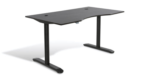 Electric Height Adjustable Standing Desk: 100 Collection 55""
