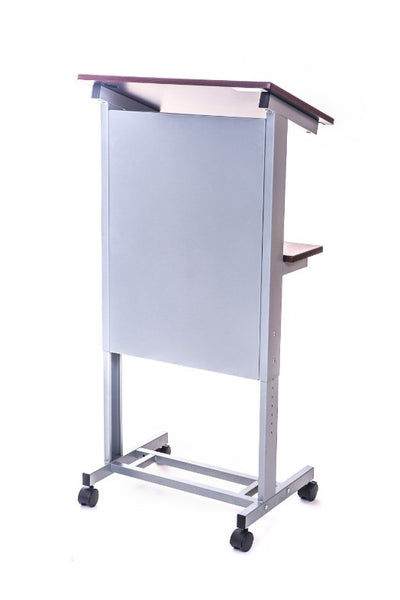 Height Adjustable Rolling Podium Standing Workstation LX-ADJ-DW