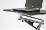 Stand Up Workpad Mobile Height Adjustable Desk 201 Silver Base
