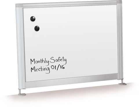 Desktop Privacy Porcelain Whiteboard Panel Series 901