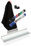 Rite-On Whiteboard Kit 571 Aluminum Tray, Markers, Eraser, Magnets