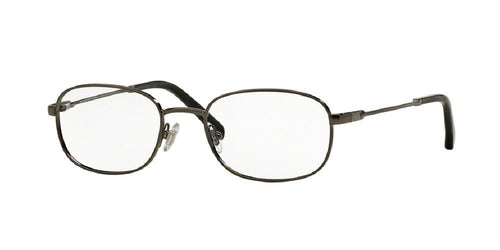 7pm view of Brooks Brothers Eyeglasses - CLASSIC (BB) BB1014 1567 50 GUNMETAL CLEAR DEMO LENS Men's Rectangle Full Rim