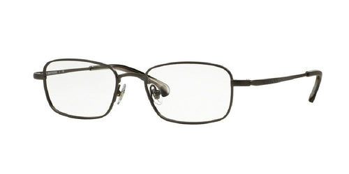 7pm view of Brooks Brothers Eyeglasses - CLASSIC (BB) BB1040 1150 50 GUNMETAL CLEAR DEMO LENS Men's Rectangle Full Rim