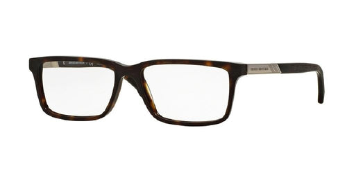 7pm view of Brooks Brothers Eyeglasses - MODERN (BB) BB2019 6001 53 DARK HAVANA TORTOISE CLEAR DEMO LENS Men's Rectangle Full Rim