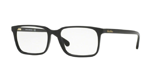 7pm view of Brooks Brothers Eyeglasses - CLASSIC (BB) BB2033 6000 54 BLACK CLEAR DEMO LENS Men's Rectangle Full Rim