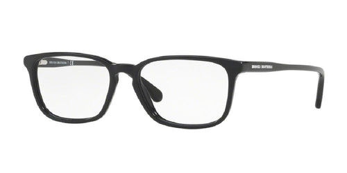 7pm view of Brooks Brothers Eyeglasses - FUN ABOUT TOWN BB2036 6000 53 BLACK CLEAR DEMO LENS Men's Rectangle Full Rim